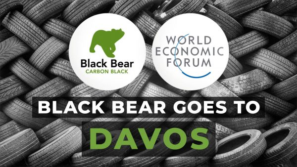 Black Bear goes to Davos